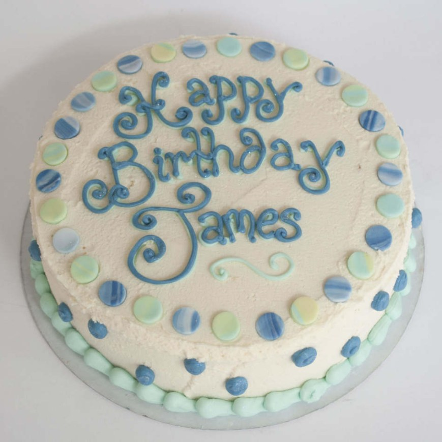 Buttercream Birthday Cakes Buttercream Birthday Cake Boys Birthdays Cakes