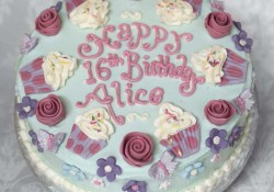 Buttercream Birthday Cakes Cupcakes And Roses Buttercream Cake Birthday Cakes