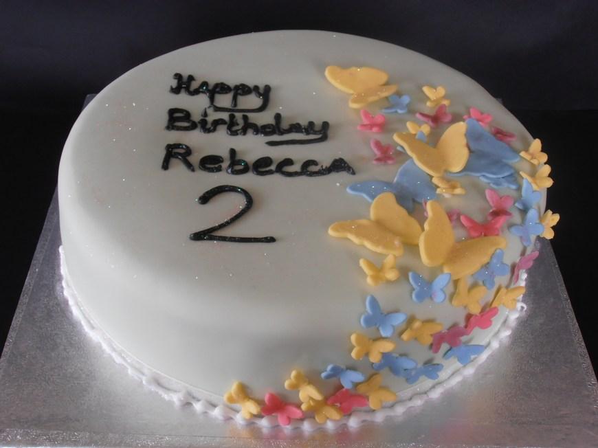 Butterfly Birthday Cake Butterfly Birthday Cake Cols Cupcakes Cakes