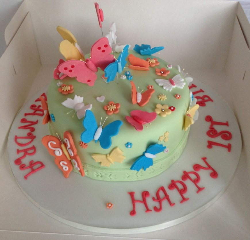 Butterfly Birthday Cake Butterfly Cakes Decoration Ideas Little Birthday Cakes
