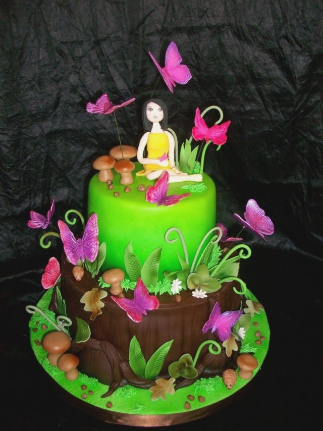 Butterfly Birthday Cakes Butterfly Birthday Cake With Name Edit Colorfulbirthdaycakesga