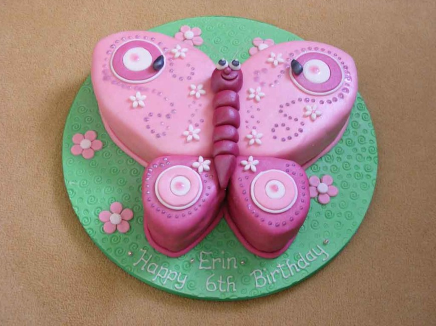 Butterfly Birthday Cakes Butterfly Birthday Cakes