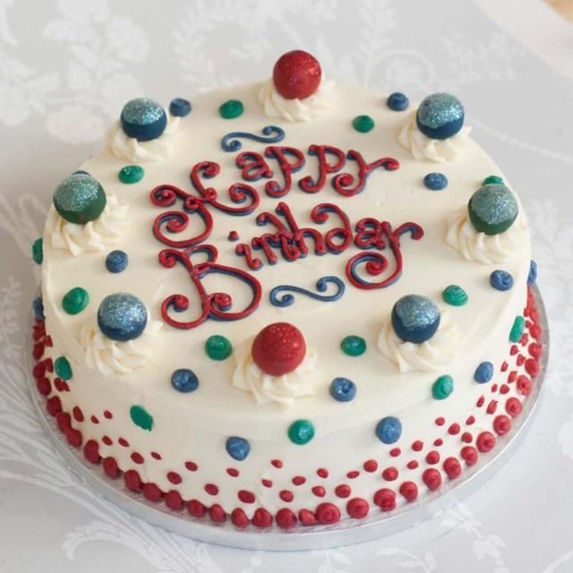 Cakes For Birthdays Buttercream Cakebirthday Cakeedinburghglasgow