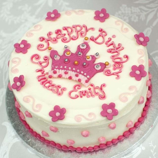 Cakes For Birthdays Princess Cakegirls Birthday Cakebuttercream Cakeedinburghglasgow