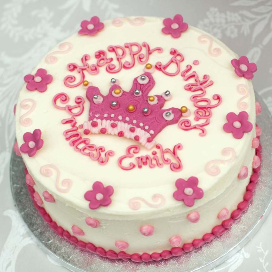 Cakes For Birthdays Princess Cakegirls Birthday Cakebuttercream Cakeedinburghglasgow