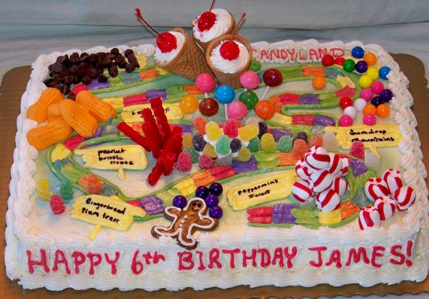 Candy Birthday Cake 11 Candyland Birthday Sheet Cakes Photo Candyland Birthday Cake