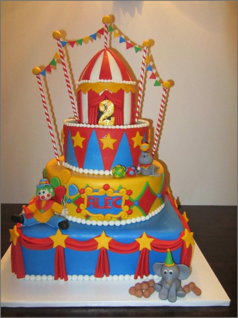 Carnival Birthday Cakes Carnival Birthday Cake Fresh Circus Cakes Cake Geek Magazine