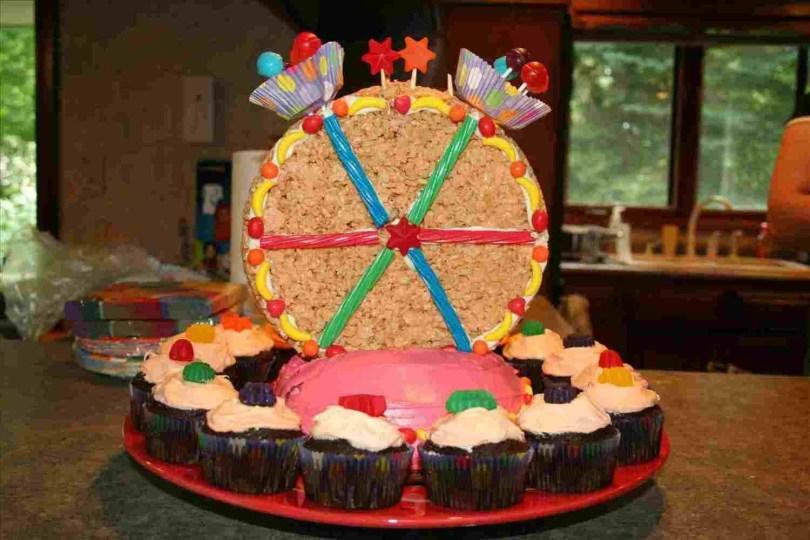 Carnival Birthday Cakes Simple Carnival Birthday Cake Thanetcraft