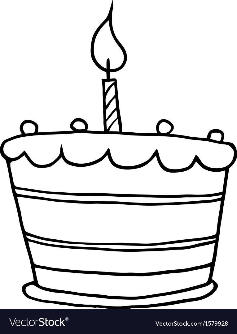 27 Beautiful Image Of Cartoon Birthday Cake Davemelillo Com