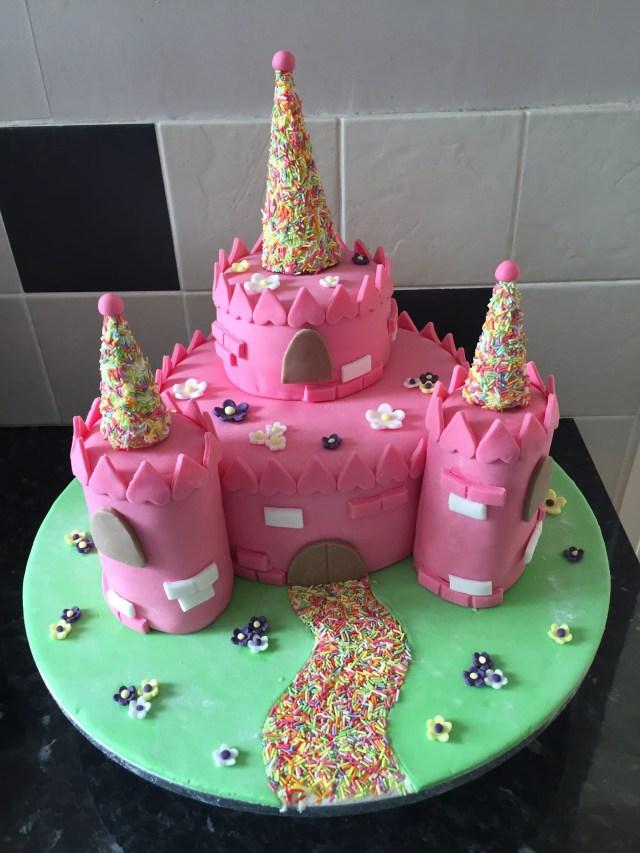 Castle Birthday Cake Castle Birthday Cake Davisons Bakery