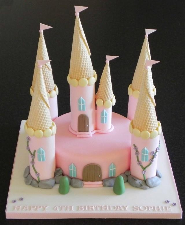 Castle Birthday Cake Castle Birthday Cakes