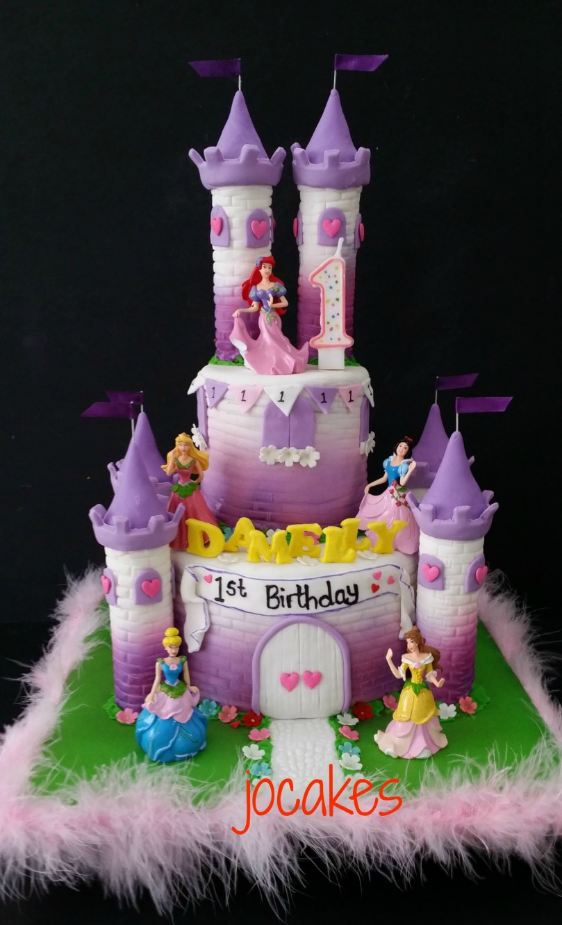 Castle Birthday Cake Castle Cake Jocakes