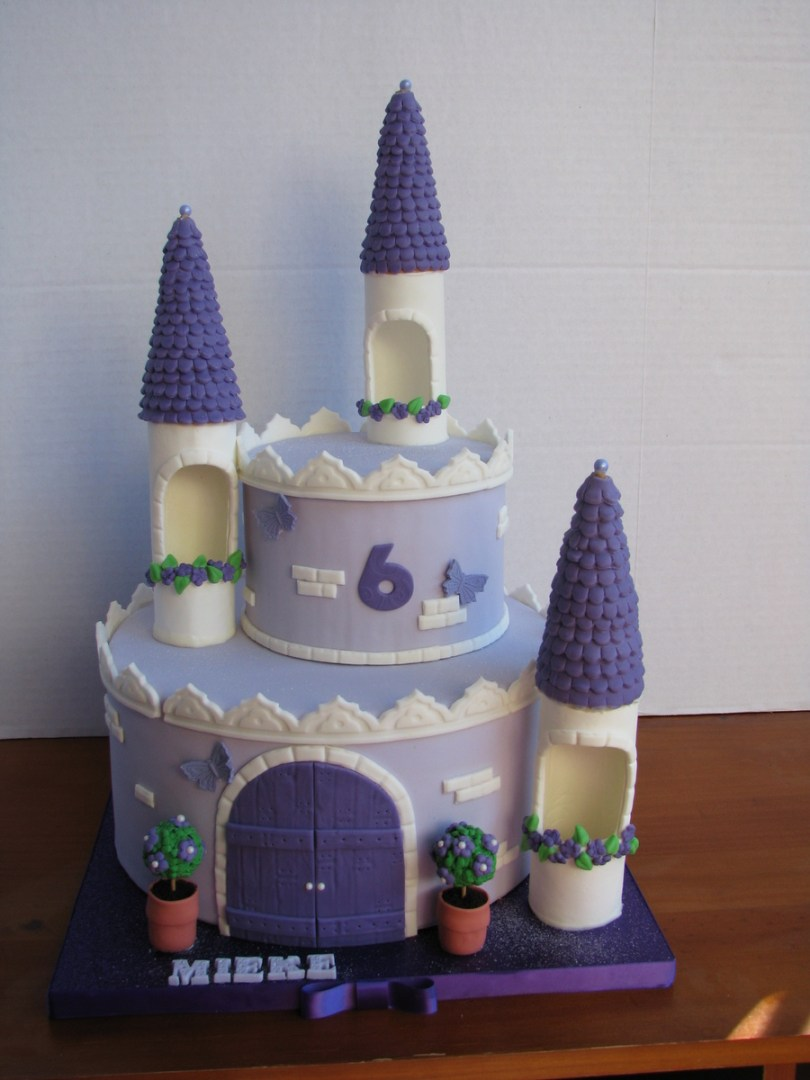 Castle Birthday Cake Girls Princess Castle Birthday Cake Cakecentral