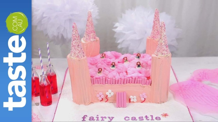 Castle Birthday Cake How To Make A Fairy Castle Cake Youtube