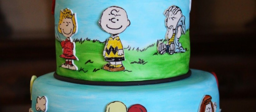 Charlie Brown Birthday Cake Charlie Brown Cake Charlie Brown Cake Themed Party Peanuts