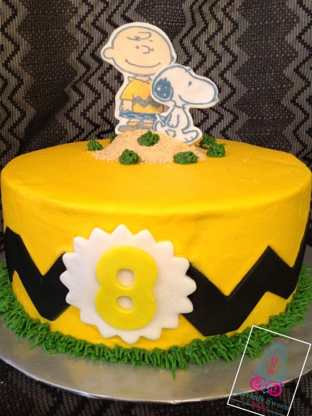 Charlie Brown Birthday Cake Charlie Brown Cakes Google Search Youre A Good Man Charlie