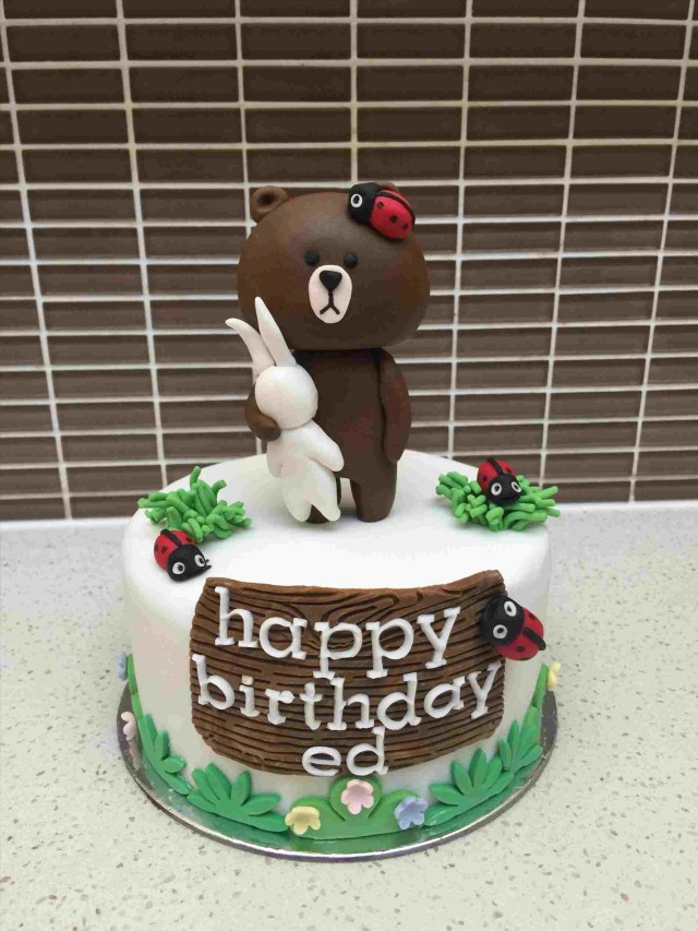 Charlie Brown Birthday Cake From Line Characters Cake U In Rhpinterestcom Charlie Themed Party