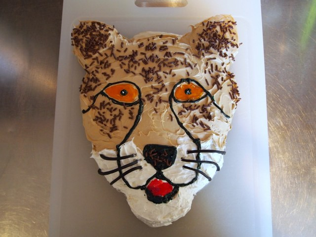 Cheetah Birthday Cake 12 Cheetah Birthday Cupcakes Photo Cheetah Birthday Cake Red