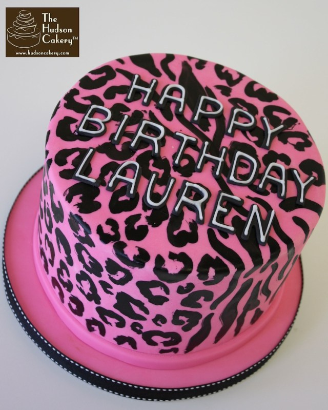 Cheetah Birthday Cake Cheetah Zebra Zeetah Cake Birthday The Hudson Cakery