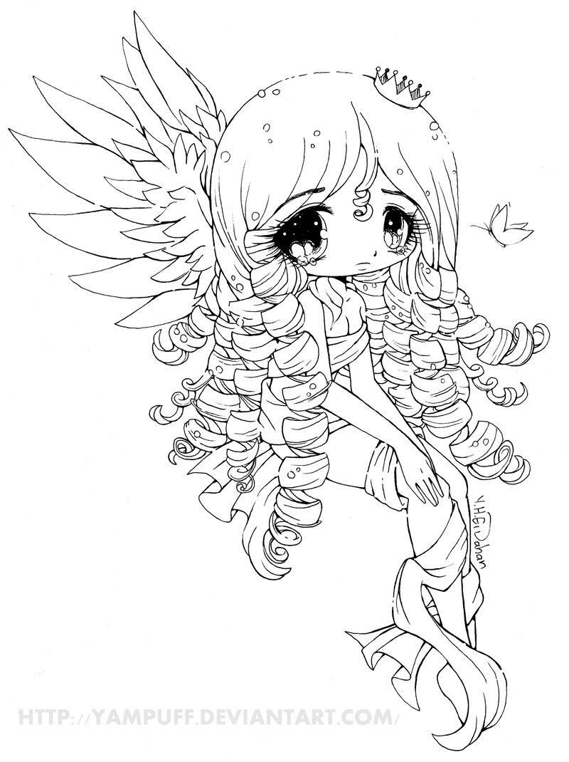 Chibi Coloring Pages Chibi Coloring Pages Best Free Anime Girls Kids Children And 800