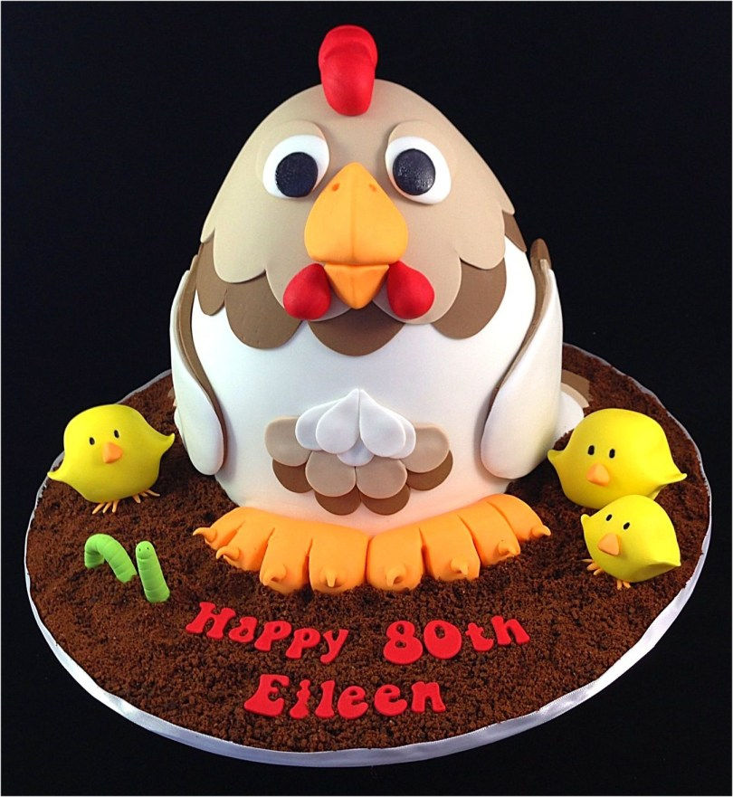 Chicken Birthday Cake Birthday Cake Photos A Chicken Cake This Is Not My Original