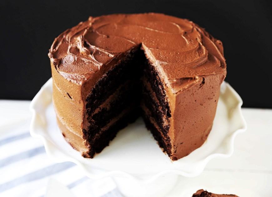 Chocolate Birthday Cake Recipe Love At First Sight Chocolate Cake Modern Honey