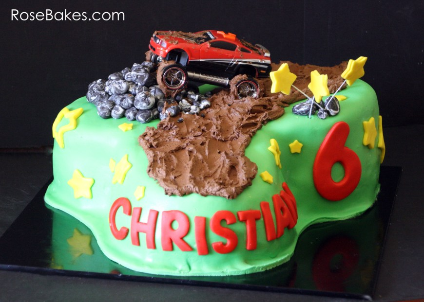Christian Birthday Cakes A Mud Riding Cake And Feeling Like A Failure As A Mommy Rose Bakes