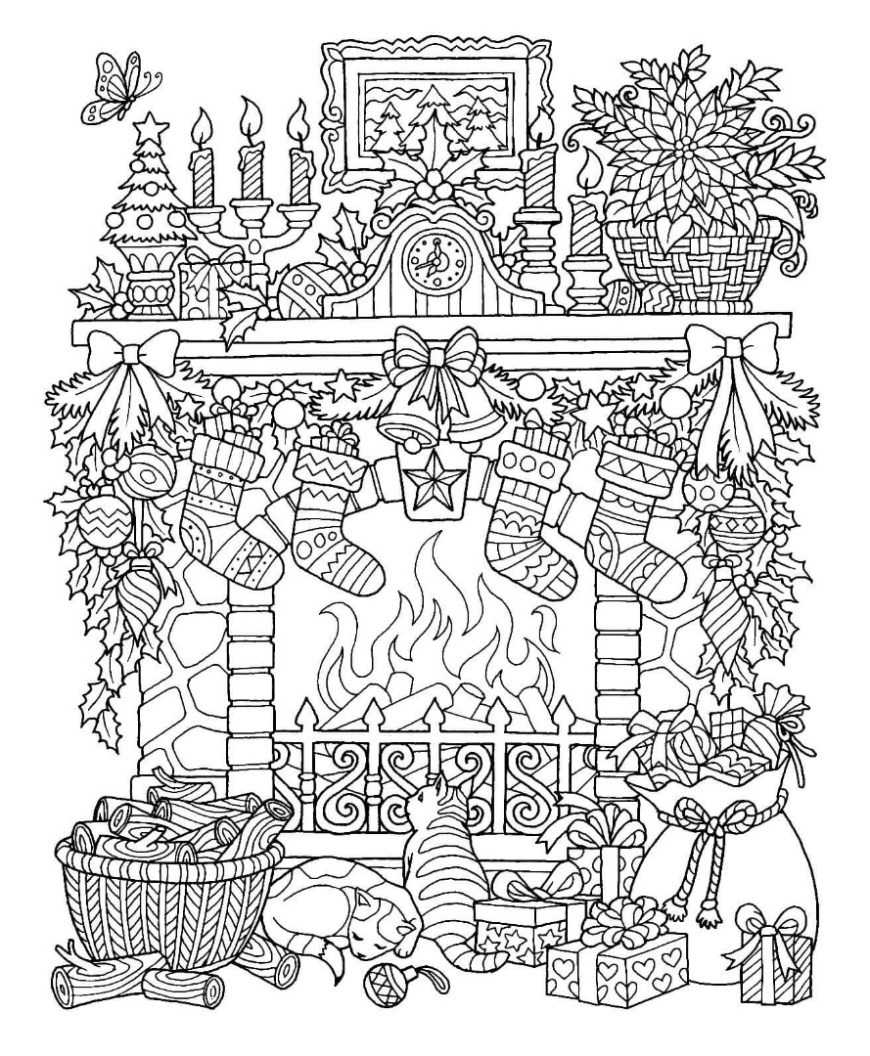 Christmas Coloring Pages Images Of Christmas Coloring Sheets Cosmo Scope