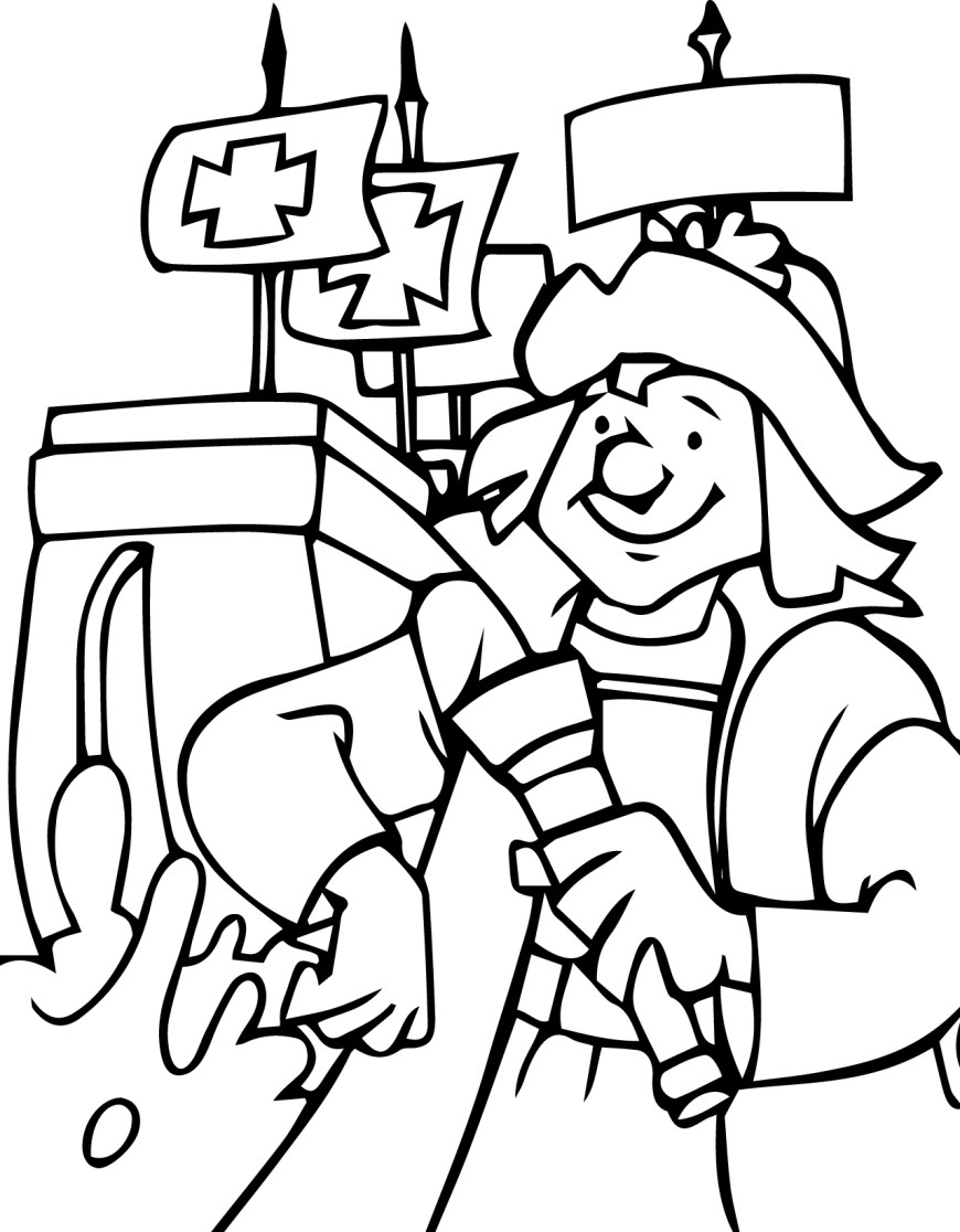 Christopher Columbus Coloring Page Christopher Columbus Coloring Pages Wecoloringpage