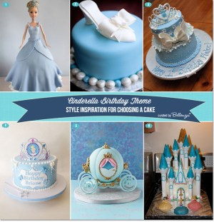Cinderella Birthday Cake Cinderella Themed Birthday Cakes