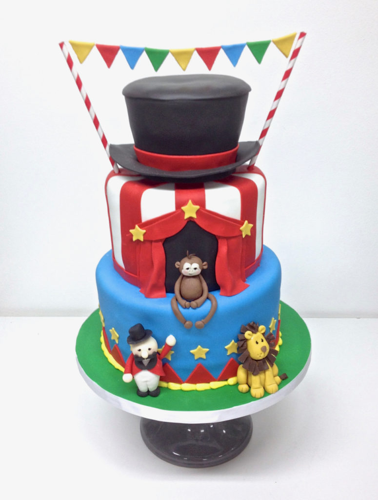 Circus Birthday Cakes Nashville Sweets Circus Birthday Cake