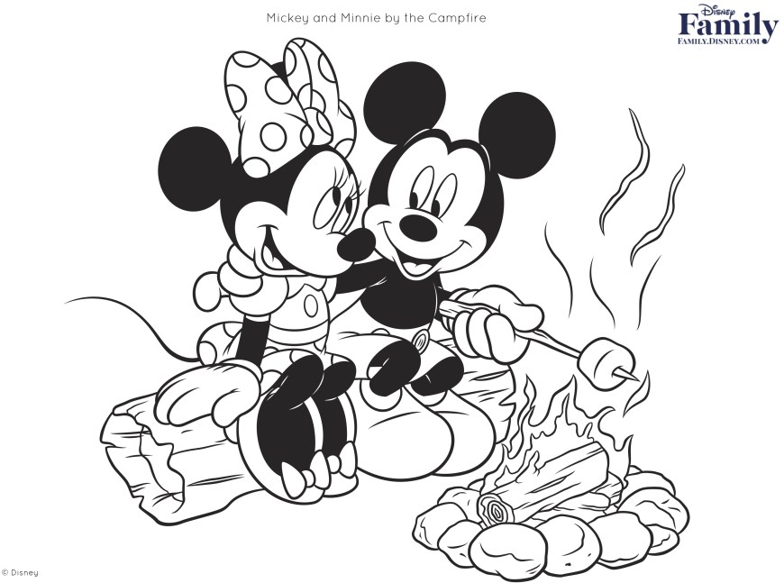 Coloring Pages Disney Disney Coloring Pages Disney Family