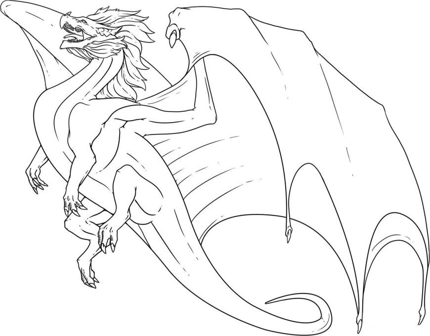 Coloring Pages Of Dragons Pleasant Design Ideas Chinese Dragon Colouring Pages Best Coloring