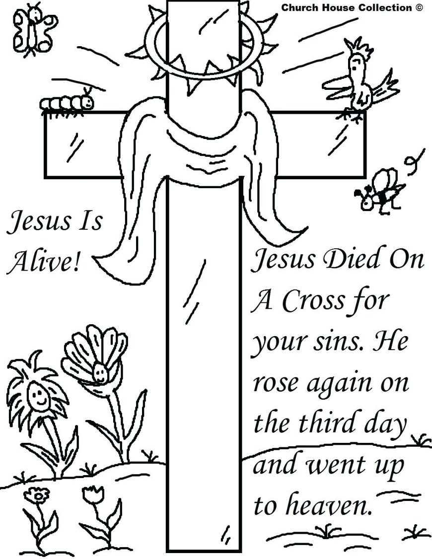 Coloring Pages Of Jesus Coloring Pages Jesus Is Alive Collection Coloring For Kids 2019