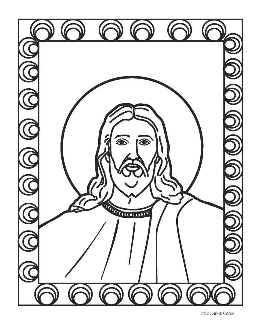 Coloring Pages Of Jesus Free Printable Jesus Coloring Pages For Kids Cool2bkids