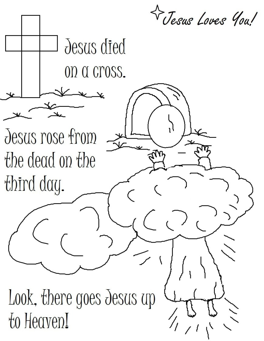 Coloring Pages Of Jesus Jesus Coloring Pages