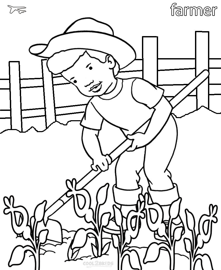 Community Helpers Coloring Pages Printable Community Helper Coloring Pages For Kids Cool2bkids