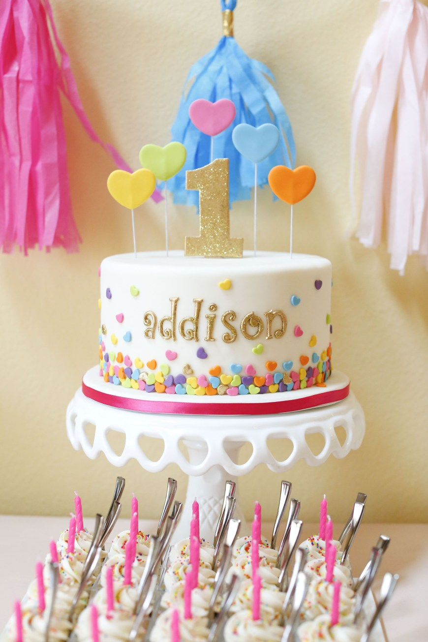 Confetti Birthday Cake Deanna Pappas Daughters Birthday Party Childrens Birthday Cakes