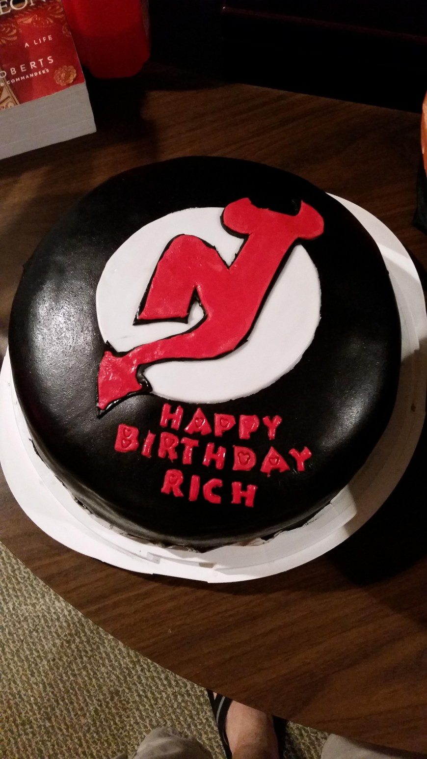 Cool Birthday Cake Girlfriend Made Me A Pretty Cool Birthday Cake Devils