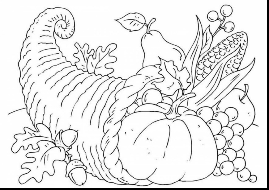 Cornucopia Coloring Pages Magic Cornucopia Coloring Pages To Print Greatest Printable Bltidm