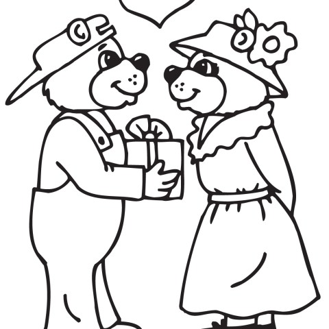Couple Coloring Pages Couples Coloring Pages Free Printable Pictures