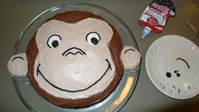 Curious George Birthday Cake How To Make A Curious George Birthday Cake Kristina Lim