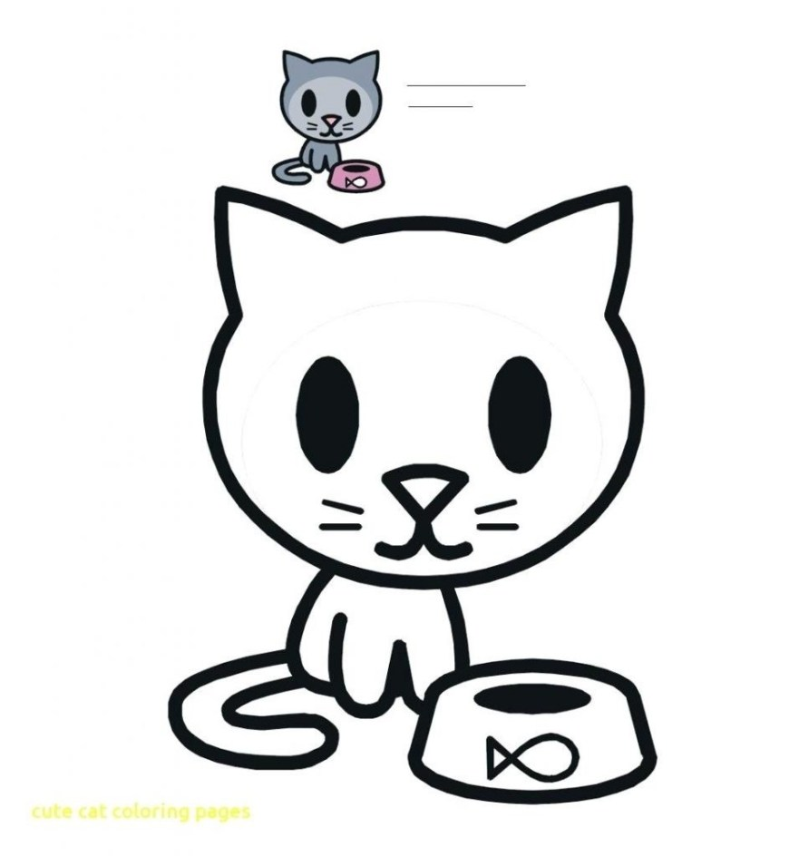 Cute Cat Coloring Pages Ultimate Coloring Pages Of Cute Cats Growth Cat Face Page In The Hat