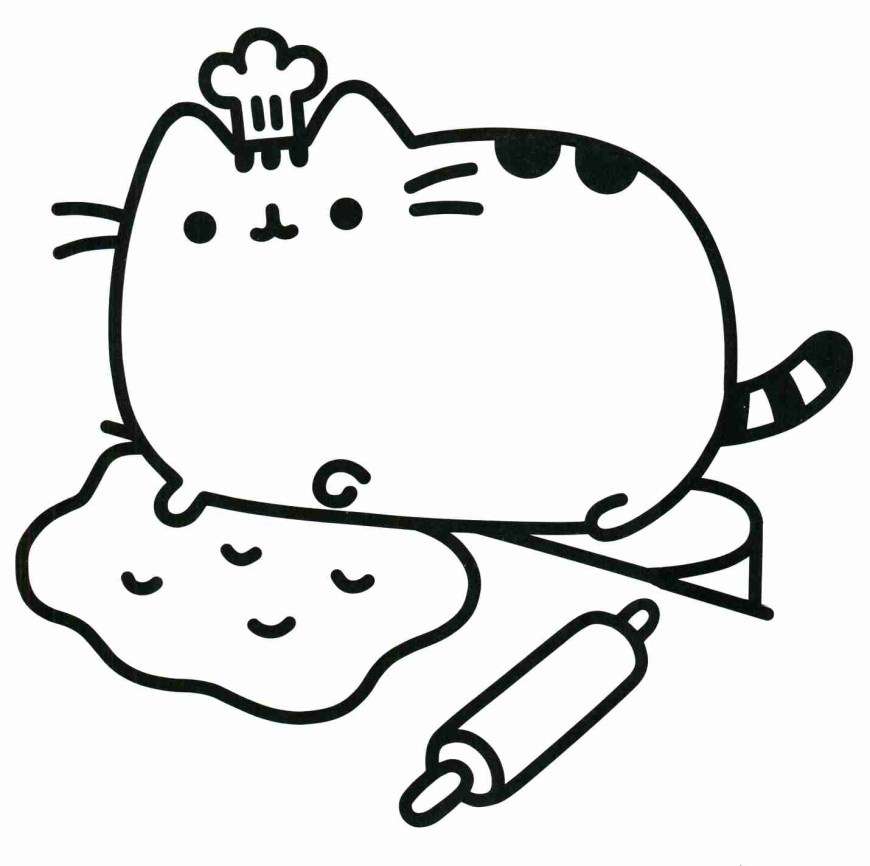 Cute Cat Coloring Pages Unique Cute Cat Coloring Pages 42 For Your Free Book With Coloring