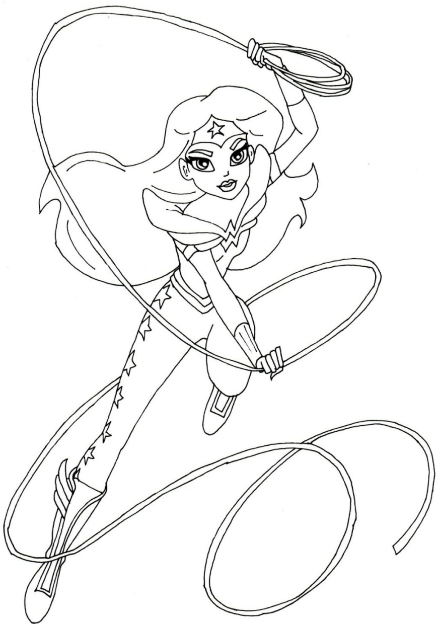 Dc Superhero Girls Coloring Pages Coloring Pages Marvelous Superhero Girls Coloring Pages Super Hero