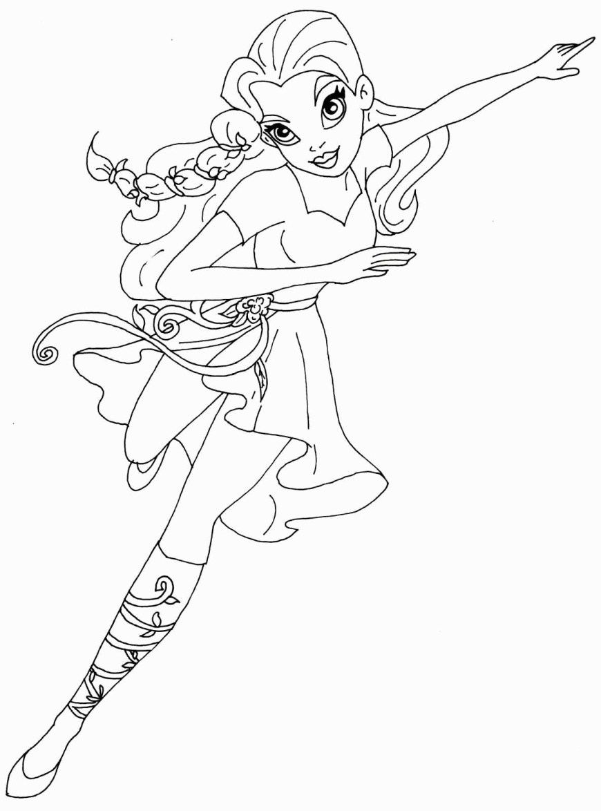 Dc Superhero Girls Coloring Pages Dc Superhero Girl Lgant Dc Superhero Girls Coloring Pages Elegant