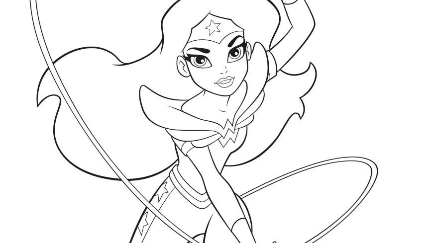 Dc Superhero Girls Coloring Pages Dc Superhero Girls Coloring Pages For Kids With Dc Super Hero Girls