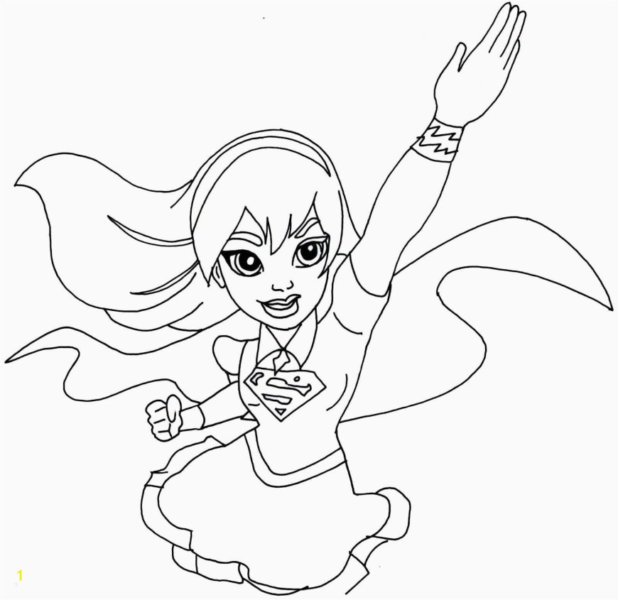 Dc Superhero Girls Coloring Pages Free Printable Superhero Coloring Pages 43 Dc Superhero Girls