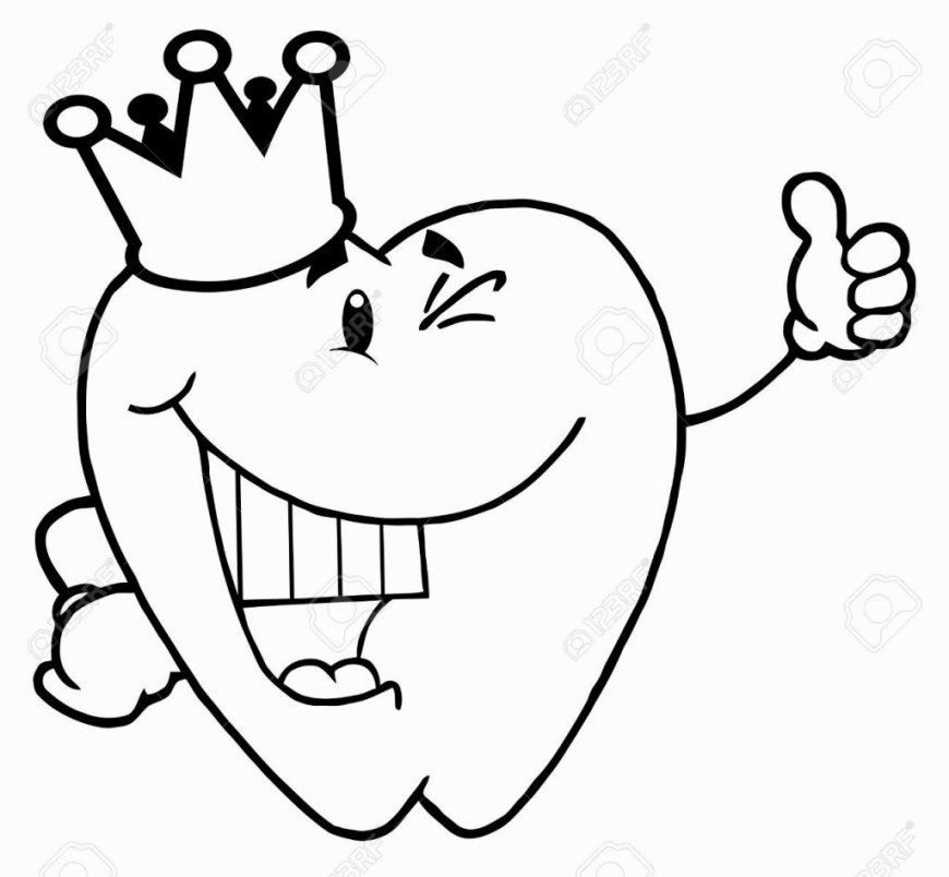 Dental Coloring Pages Tooth Coloring Pages Monesmapyrene