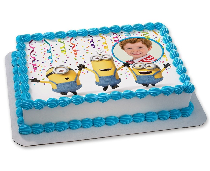 Despicable Me Birthday Cake Minion Cakes Despicable Me Birthday Cakes Custom Birthday Cakes